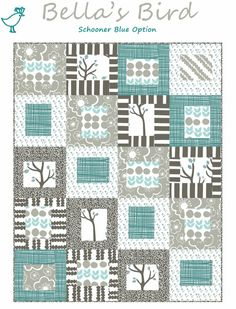 Taking Turns With Curious Nature Quilt Pattern By Monica