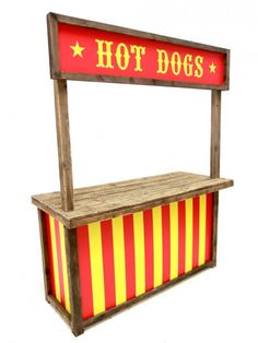 Hot Dogs Food Stall | Grease Theme | Event Prop Hire