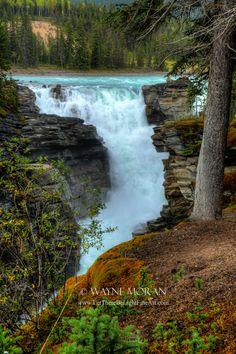 Athabasca Falls Jasper National Park Alberta Canada - Canadian Rockies Banff National Park Photography Tour