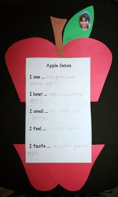 Classroom Freebies: Apple Sense