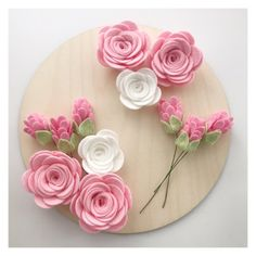 We specialise in handmade felt flowers and ready to make flowers if you would like to try them yourself. Felt Flower Bouquet, Felt Flower Wreaths, Paper Flowers Diy, Handmade Flowers, Felt Flowers, Flower Crafts, Fabric Flowers, Felt Diy, Handmade Felt