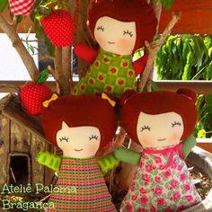 Almofada boneca   Ateliê Paloma Bragança