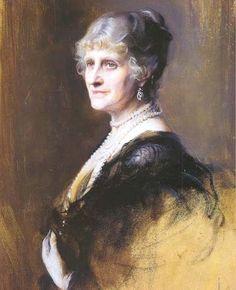 Nina Cecilia, Countess of Strathmore & Kinghorne, Grandmother of Queen Elizabeth by De Laszlo