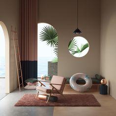 Impressive and Immersive Digital Works – Fubiz Media H Design, House Design, Design Ideas, Interior Architecture, Interior And Exterior, Interior Design Inspiration, Interior Decorating, Room Decor, Living Room