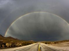 Rainbows in Nevada