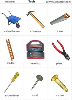 Kids Pages - Tools