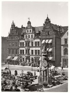 Vintage: historic photos of Bremen, Germany in the late 19th Century |