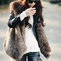 Obsessed with this $34 faux fur vest!