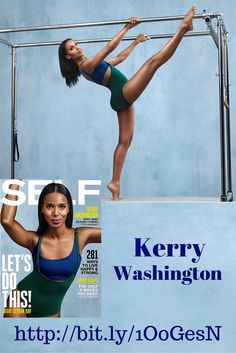 Kerry Washington SELF Magazine Behind the photo shot scene & interview video.