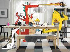 Elle décroche un emploi en dessinant sur des catalogues Ikea