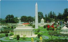 LEGO Washington DC in Miniland USA at LEGOLAND California!
