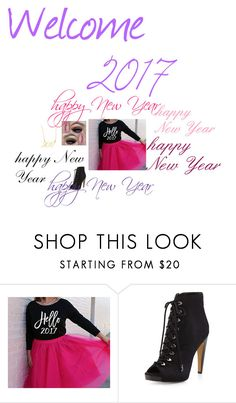 """""""happy new year"""" by li-directioner ❤ liked on Polyvore featuring Bebe, Sam Edelman and Brevity."""