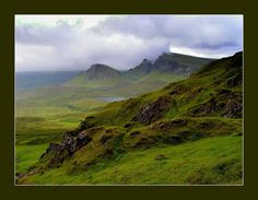 Scotland; went to Glasgow, but would love to see the Scottish countryside...