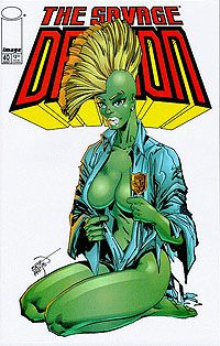 The Savage Dragon Issue - Read The Savage Dragon Issue comic online in high quality Comic Book Artists, Comic Books Art, Comic Art, Marvel, Aspen Comics, Image Hero, Dragon Comic, Savage Dragon, Dragon Series