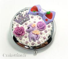 Miroir de sac sweet pegasus