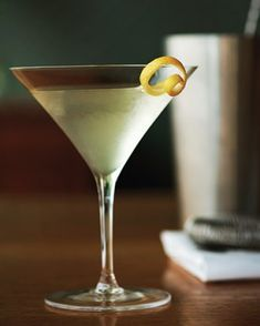 ... ratio in a classic martini. We like 2:1. Photo by Stuart Mullenberg
