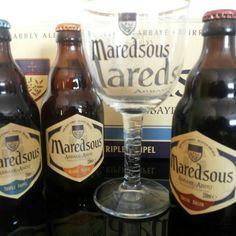 Cerveja Maredsous. Compre o combo com a taça com 20% de desconto - www.primbier.com.br