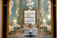 Luma chairs at Turin Palace Hotel, Italy. Gold, Hospitality, Office, Interior, Design, Furniture.