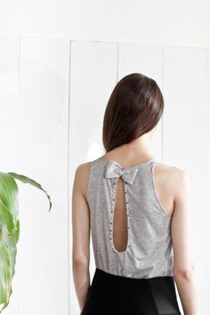 Lookbook summer 2014 | wearelse. Musculosa bordada en perlas y strass