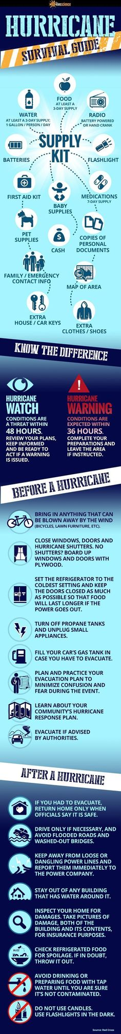 Hurricane Survival Tips: How to Survive Natural Disasters by Survival Life at survivallife.com/...