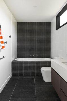zwart en witte kamer ontwerp