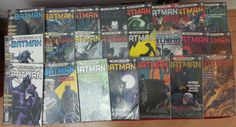 6a. série Batman da Editora Abril. Ago/2000-Mar/2002. 23 edições (1-23).
