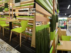 1 minute hot snacking store by Creativ Interior, Bucharest – Romania