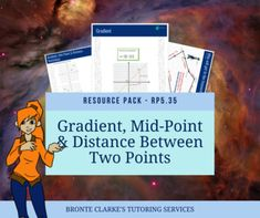 This resource package covers learning the gradient, mid-point and distance between two points formulas. This pack contains:An information sheet with formulas for gradient, mid-point and distance between two points, each with an example.A worksheet containing a series of coordinates on the Cartesian ... Distance Between, Activity Sheets, Matching Games, Worksheets, Packing, Relationship, Student, Activities, Learning