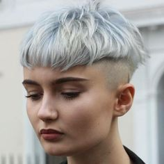 Pastel Blue Bowl Cut With Undershave More