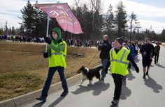 #MAINE #SWD #GREEN2STAY More than 1,100 Hike for the Homeless as shelter demand remains high Participants make their way from Hampden Academy to the Bangor Waterfront in part of the annual Hike for the Homeless Saturday. Buy Photo