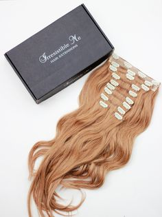 Clip in extensions | Real hair extensions | Clip in | Irresistible Me - Looking for Hair Extensions to refresh your hair look instantly? KINGHAIR® only focus on premium quality remy clip in hair.
