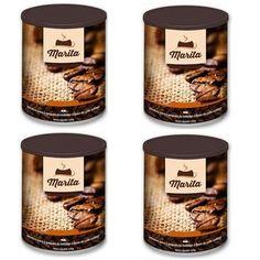 CAFÉ MARITA VERSÃO 3.0 100G - 4 LATAS PROGRAMA D80