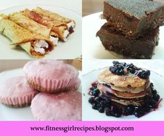 Find out more delicious fitness desserts recipes which you should make part  of your fitness lifestyle. www.fitnessgirlrecipes.blogspot.com