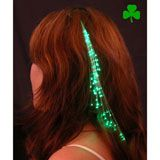 Glowbys Green Hair Accessory st patricks day, green hair, glowbi green, hair accessories
