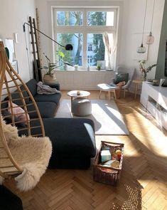 Wohnzimmer Altbau 170qm Homestory