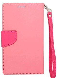 """myLife Luxury Design {Leather Wristlet - Bifold} Magnetic Wallet for iPod 4 iTouch {Carnation Pink and Hot Pink""""Sleek Modern Professional"""" Textured Faux Leather - Folio Money Holder Design} myLife Brand Products http://www.amazon.com/dp/B00PRDE9SE/ref=cm_sw_r_pi_dp_yu4Aub1NN1XST"""