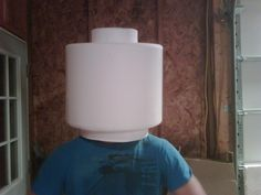 LEGO Costume - Minifigure Head
