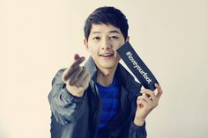 Song Joong Ki For Kolon Sport's #LOVEYOURFOOT Campaign