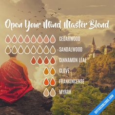 Open Your Mind Master Blend — Essential Oil Diffuser Blend - Modern Sandalwood Essential Oil, Essential Oil Perfume, Essential Oil Uses, Doterra Essential Oils, Cinnamon Essential Oil, Cedarwood Essential Oil, Essential Oil Combinations, Diffuser Recipes, Essential Oil Diffuser Blends