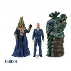 Doctor Who - Action Figure Collectors Set: Enemies Of The 3rd Doctor | Captain Hook Merchandise