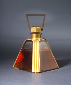 """Amour en Cage,"" a perfume bottle for Cadolle, circa 1927"