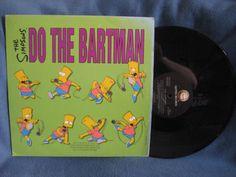 RARE VintageThe Simpsons Do The Bartman Vinyl by sweetleafvinyl /// www.art-by-ken.com