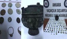Konya Haber: Konyadan Ankaraya götürülen tarihi eserler ele geçirildi