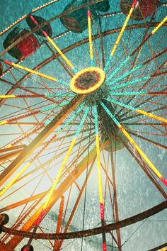 Ferris Wheel Artwork.