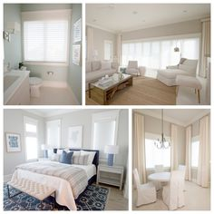 Our Deer Lake project in Seagrove Beach was a custom build on the Gulf of Mexico. The home features silhouettes throughout creating a beautiful and cohesive design feel. Seagrove Beach, Lake Beach, Hunter Douglas, Custom Window Treatments, Window Coverings, Bathtub, Windows, Palm, Kitchens