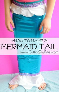 DIY Mermaid Tail Tut