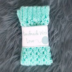 Printable Knit and Crochet Labels