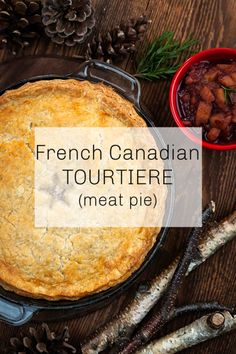 French Canadian Tourtiere - Creative Cynchronicity Canadian Meat Pie Recipe, Canadian Food, Canadian Recipes, Pie Recipes, Gourmet Recipes, Cooking Recipes, Beef Dishes, Food Dishes, French Meat Pie