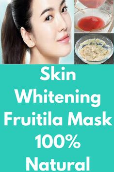 Skin Whitening Fruitila Mask 100% Natural Today I will share magical skin mask for skin whitening in just 7 days. With this fruit mask, you will get healthy glowing skin naturally and it is 100% effective. For best results do this twice in a week. Ingredi #ClayFaceMask