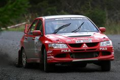 Crealey Wins and Secures Production Title for Mitsubishi